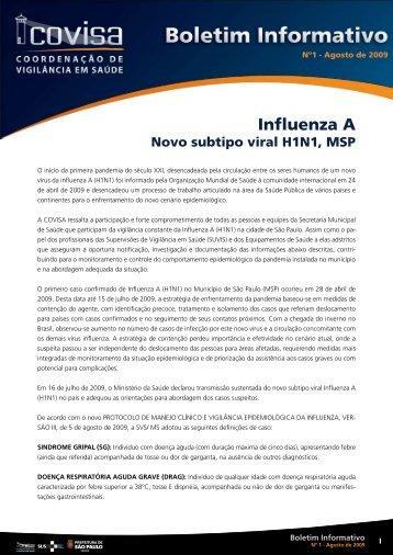 Influenza A - Prefeitura de São Paulo