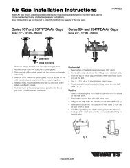 Air Gap Installation Instructions - Clean My Water