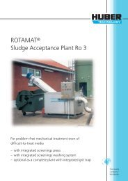ROTAMAT® Sludge Acceptance Plant Ro 3 - brochure english