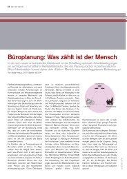 Büroplanung 06/08 - Hochschule Luzern