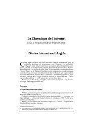 La Chronique de l'internet - Lusotopie
