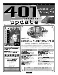 Decmber 98/January 99 issue - 401 Richmond