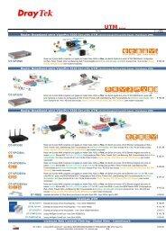 ROUTERS ADSL / CABO e ADAPTADORES RDIS
