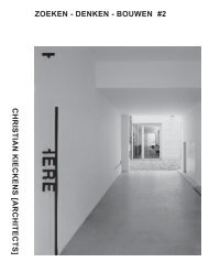 download pdf - Christian Kieckens Architects