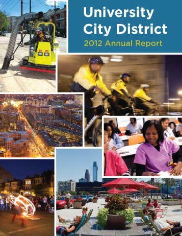University City District 2012 Annual Report