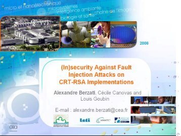 security Against Fault Injection Attacks on CRT-RSA Implementations