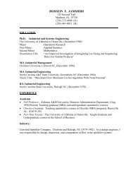 HOSSEIN F. JAMSHIDI - Alabama A&M University