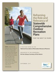 Reframing the Role and Relevancy of Statewide Comprehensive ...