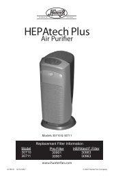 Air Purifier - Appliance Factory Parts