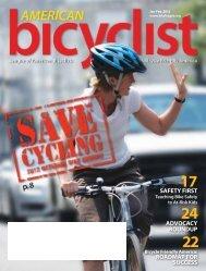 January/February 2012 - League of American Bicyclists