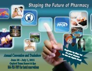 OPhA/PPOk Annual Convention - Oklahoma Pharmacists Association