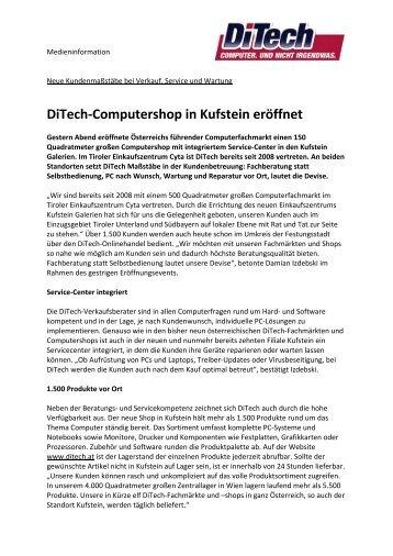 Ditech-Computershop in Kufstein er