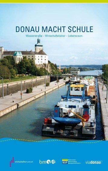 """Zum Download der """"Donau macht Schule"""" - Via Donau"""