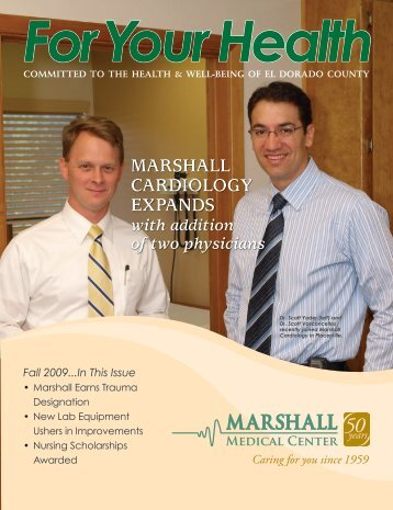 MARSHALL CARDIOLOGY EXPANDS with addition of two physicians