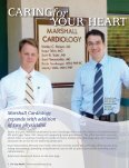 MARSHALL CARDIOLOGY EXPANDS with addition of two physicians - Page 4