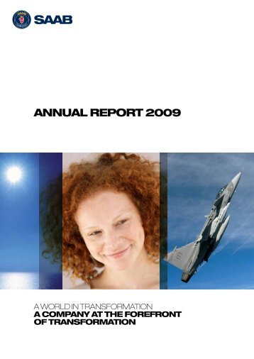 ANNUAL REPORT 2009 - Saab