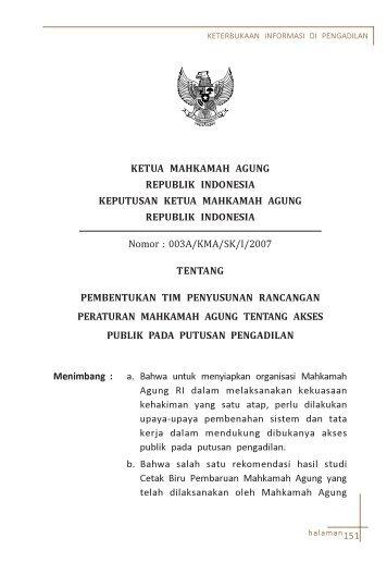 Tim Penyusun SK 144 - Badilag