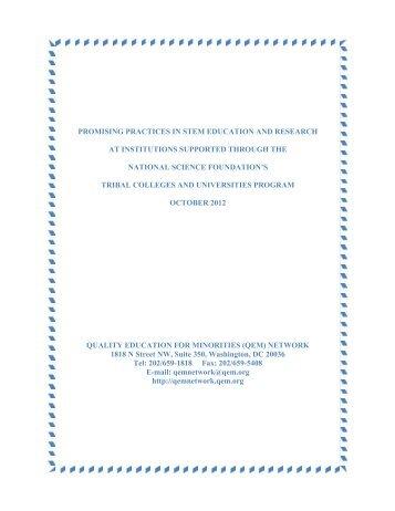 Report - (QEM) Network