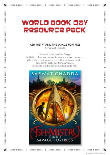 World Book Day Resource Pack World Book Day Resource Pack