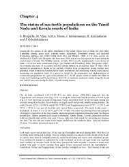 Chapter 4 The status of sea turtle populations on the Tamil Nadu ...