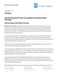 State Street Expands ETF Servicing Capabilities with Enhanced ...