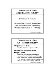Current Status Of The Air Transport Industry