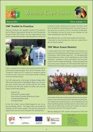 Western Cape News Western Cape News - Youth Development ...