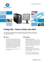 Prodigy 920 – Power in black-and-white