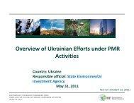 Ukraine: Country Update - Partnership for Market Readiness