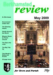 May 2009 - St Peter's Church, Berkhamsted, Herts
