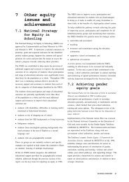 7 Other equity issues and achievements - Ministerial Council for ...