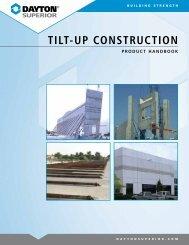 TILT-UP CONSTRUCTION - Brock White