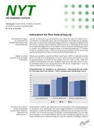 Nyt: Kriminalitet og national oprindelse 2000 - Danmarks Statistik