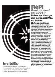 Prise en charge des… - Act Up-Paris