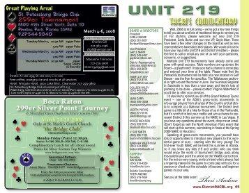 Pages 44-63 as PDF - ACBL District 9