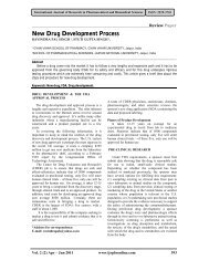 New Drug Development Process - International Journal of Research ...