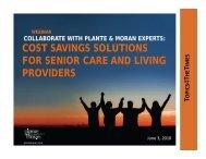 cost savings solutions cost savings solutions for ... - Plante Moran