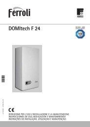 Caldaia Ferroli Domitech F24 - Certened