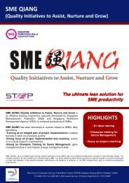 SME QIANG - Singapore Manufacturing Federation