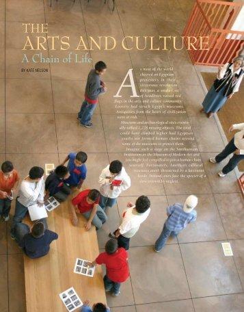 The Arts and Culture: A Chain of Life - El Palacio Magazine