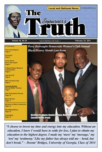 16 - The Sojourner's Truth