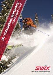 Alpine ski and snowboard preparation - Skicross.cz