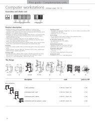 Computer stands (2807 Ko) - 1st Choice Office Furniture Ltd
