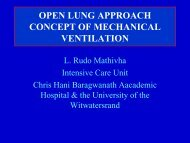 open lung approach concept of mechanical ventilation