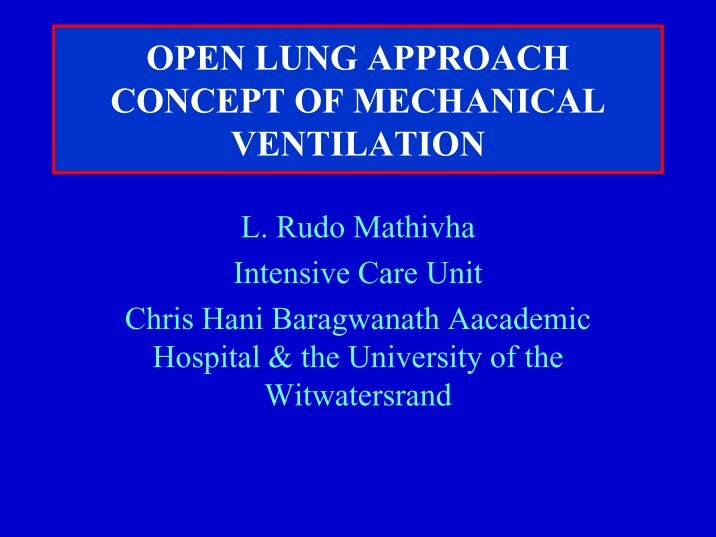 the concepts and management of neonatal mechanical ventilation Mechanical ventilation is the medical term for artificial neonatal mechanical modes come in many different delivery concepts but all modes.