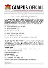 Atos Administrativos 09. 05. 2011 - UFV