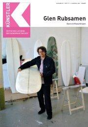 Glen Rubsamen - Zeit Kunstverlag