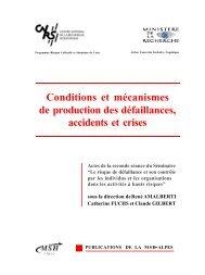 Les conditions de survenue des crises graves - Patrick Lagadec