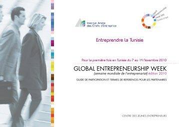 GLOBAL ENTREPRENEURSHIP WEEK - Tunisie industrie