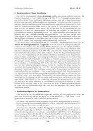 Der vorläufige Rechtsschutz (Fricke), (pdf) - Handbuch des ...